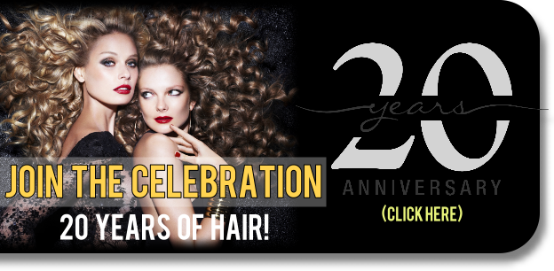 Celebrate 20 Years of Hair & Beauty Services with us...